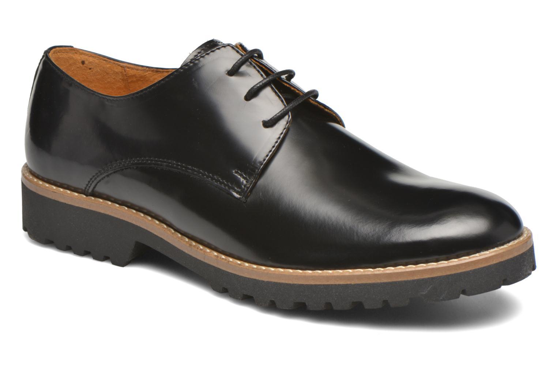 Zapatos con cordones Georgia Rose Nicran Negro vista de detalle / par