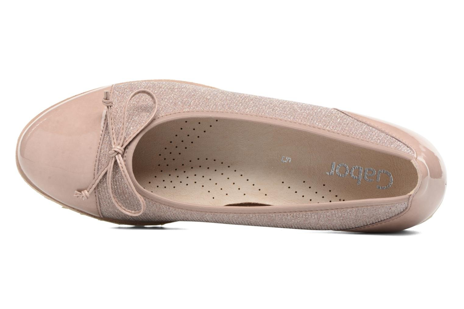 Ballet pumps Gabor Lidia Pink view from the left