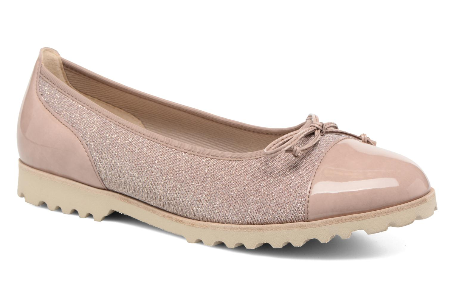 Ballet pumps Gabor Lidia Pink detailed view/ Pair view