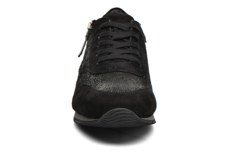 Baskets Gabor York Gris vue portées chaussures