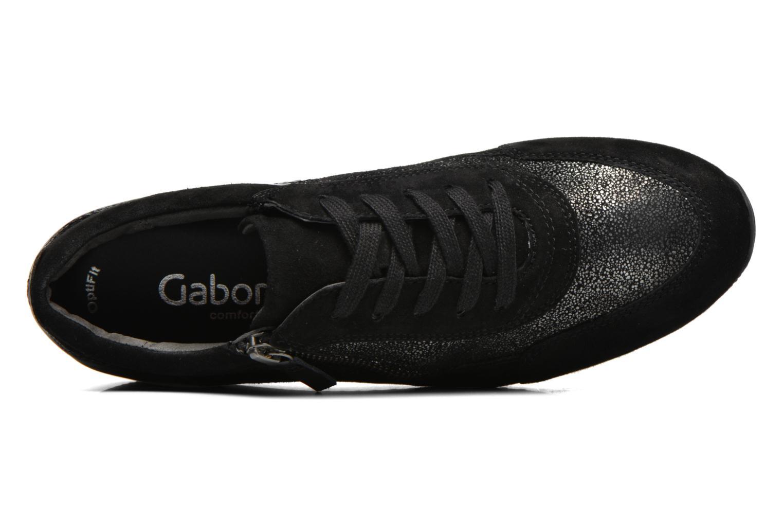 Baskets Gabor York Gris vue gauche