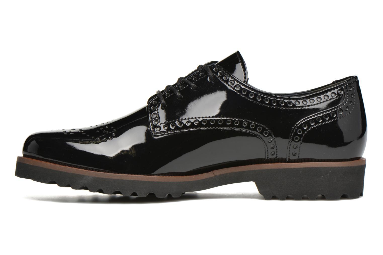 Chaussures à lacets Gabor Arielle Noir vue face