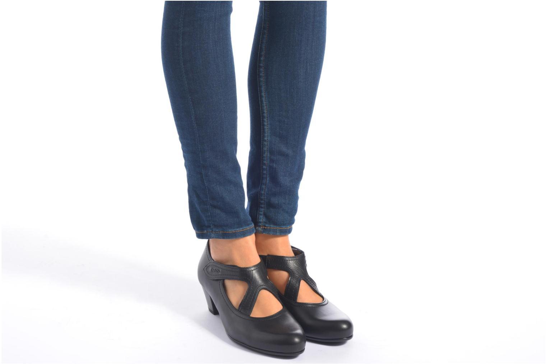 Zapatos de tacón Gabor Palma Negro vista de abajo