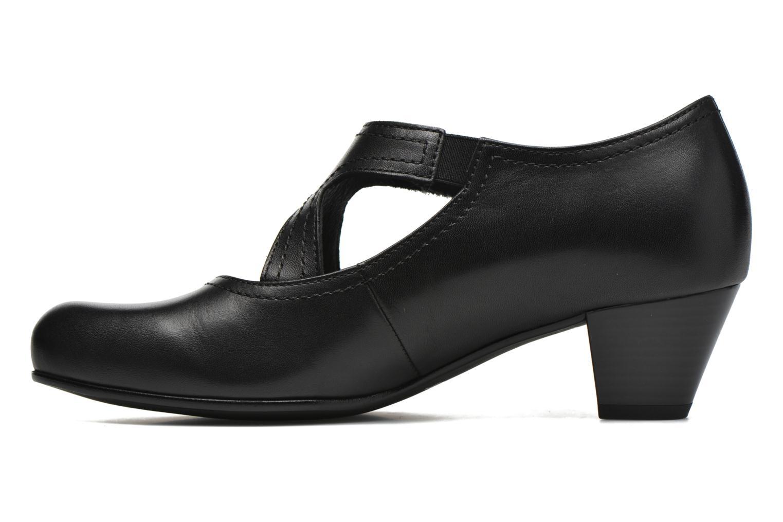 Zapatos de tacón Gabor Palma Negro vista de frente