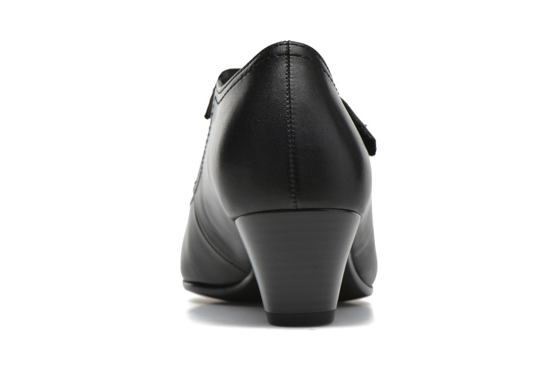 Zapatos de tacón Gabor Palma Negro vista lateral derecha
