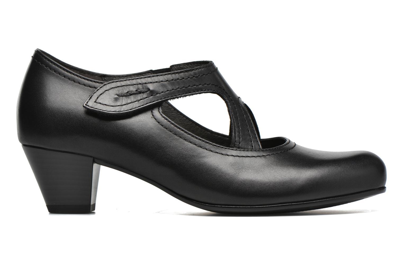 Zapatos de tacón Gabor Palma Negro vistra trasera
