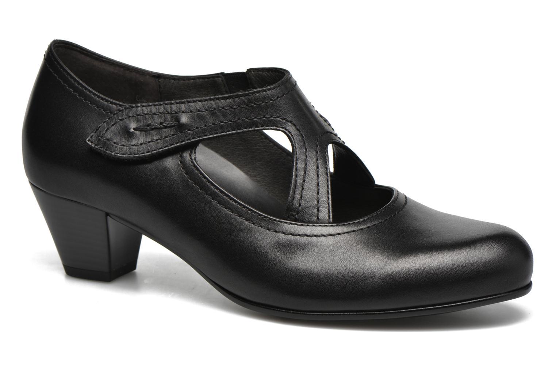 Zapatos de tacón Gabor Palma Negro vista de detalle / par