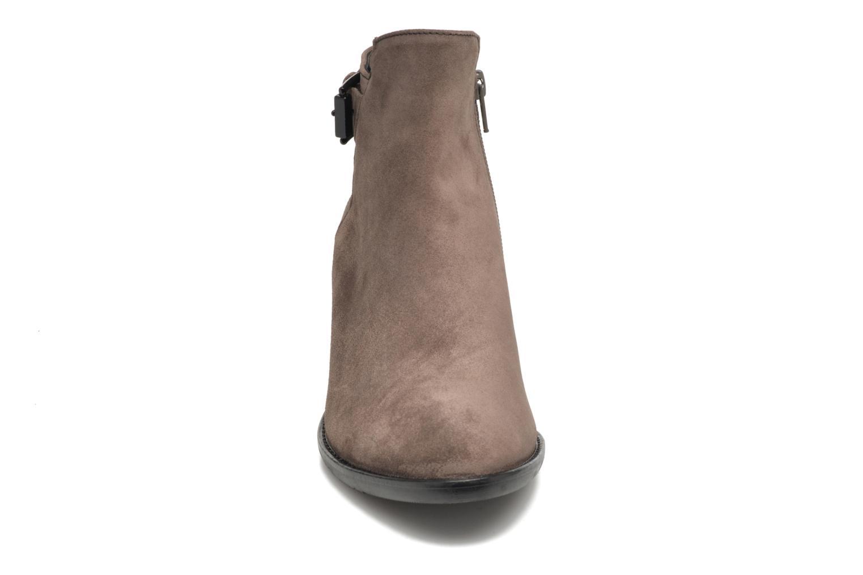 Bottines et boots Gabor Béatrice Gris vue portées chaussures