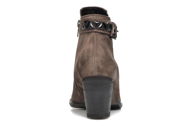 Bottines et boots Gabor Béatrice Gris vue droite