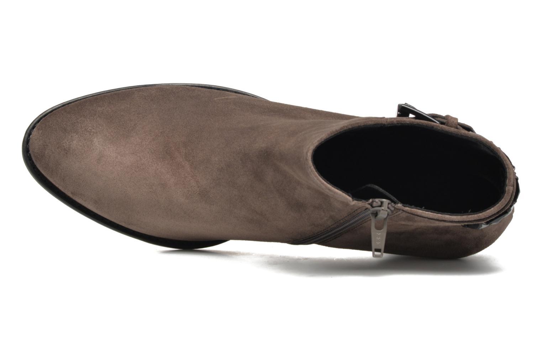 Bottines et boots Gabor Béatrice Gris vue gauche