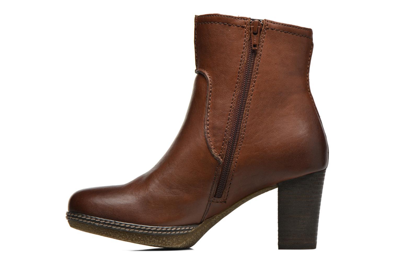 Bottines et boots Gabor Sofia Marron vue face