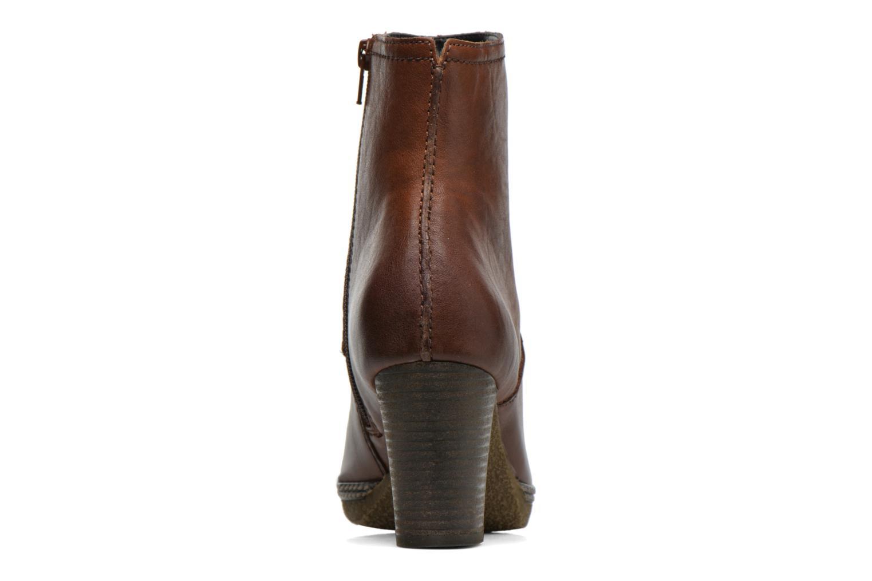 Bottines et boots Gabor Sofia Marron vue droite