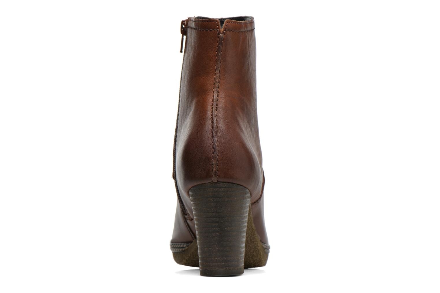 Ankle boots Gabor Sofia Brown view from the right