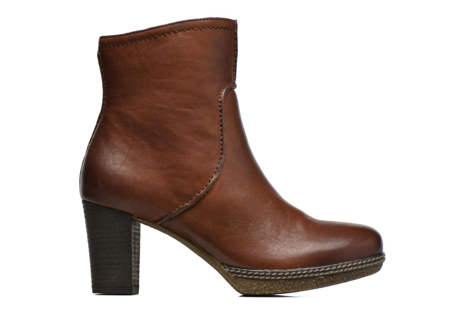 Ankle boots Gabor Sofia Brown back view