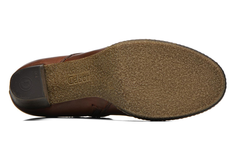 Bottines et boots Gabor Sofia Marron vue haut