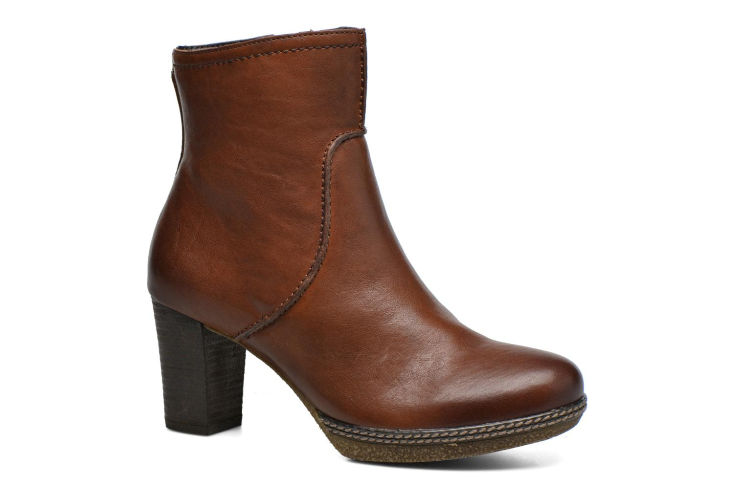 Ankle boots Gabor Sofia Brown detailed view/ Pair view
