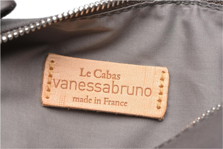Scolaire Vanessa Bruno Trousse paillettes toile Gris vue derrière