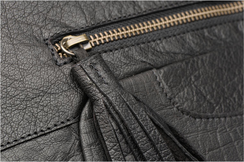 Bolsos de mano Pieces POFO Leather bag Negro vista lateral izquierda