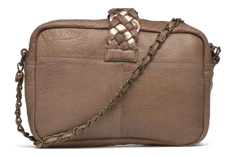 Sacs à main Pieces PIVO Leather Crossbody bag Beige vue face
