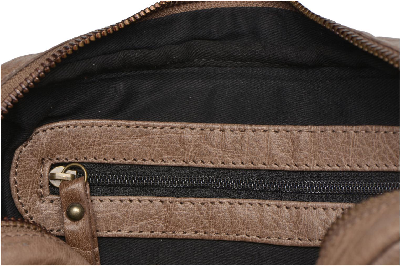 Handtaschen Pieces PIVO Leather Crossbody bag beige ansicht von hinten
