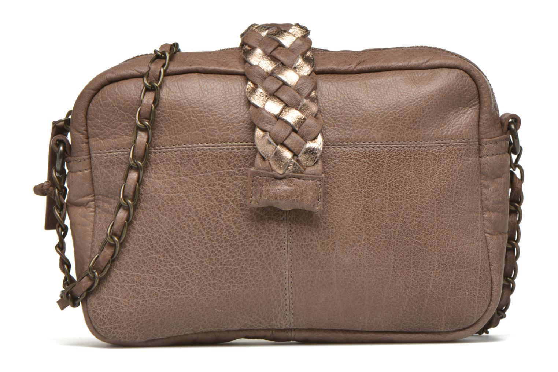 Handtaschen Pieces PIVO Leather Crossbody bag beige detaillierte ansicht/modell