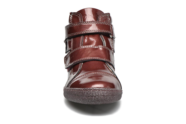 Chaussures à scratch Primigi Anne-E Bordeaux vue portées chaussures