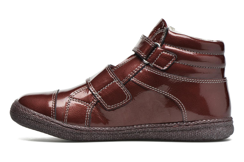 Chaussures à scratch Primigi Anne-E Bordeaux vue face