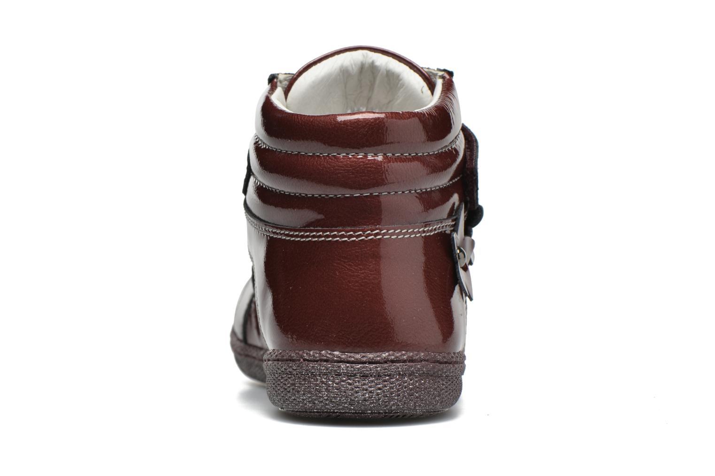 Chaussures à scratch Primigi Anne-E Bordeaux vue droite