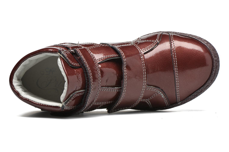 Chaussures à scratch Primigi Anne-E Bordeaux vue gauche