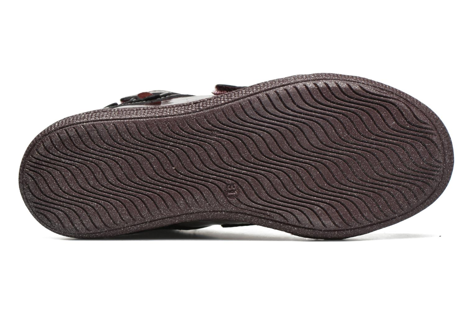 Velcro shoes Primigi Anne-E Burgundy view from above