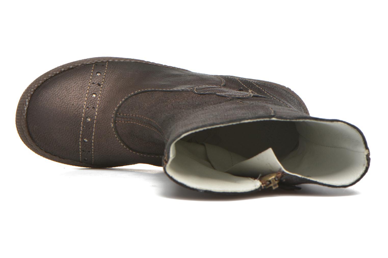 Stiefel Primigi Britte-E braun ansicht von links