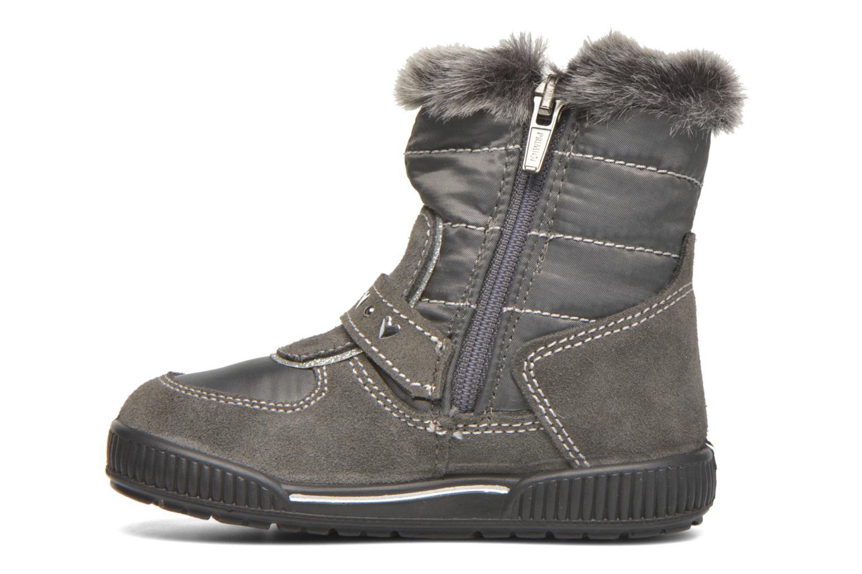 Stiefel Primigi Titi-E grau ansicht von vorne