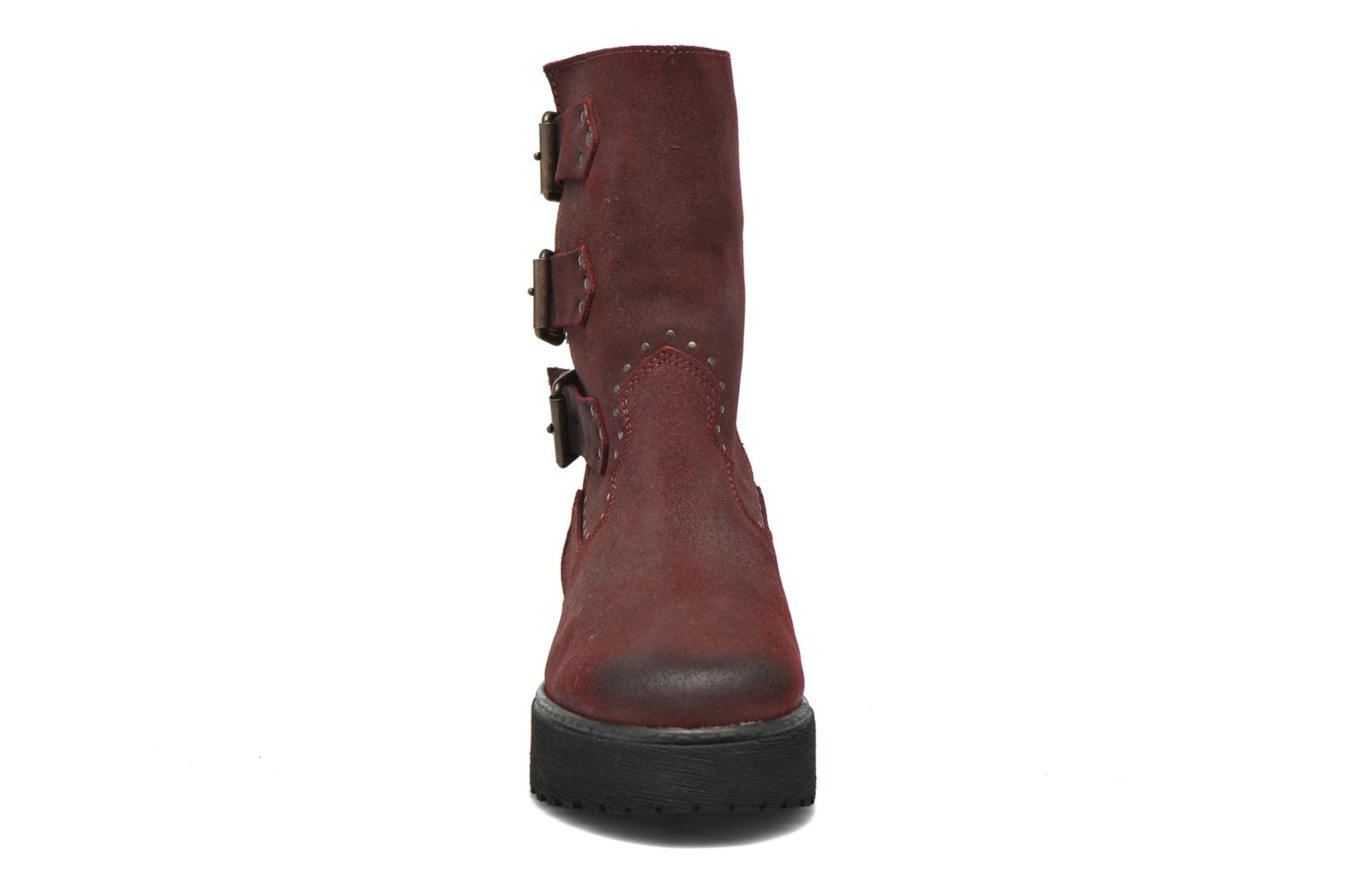Ankle boots Coolway Baboon Red model view