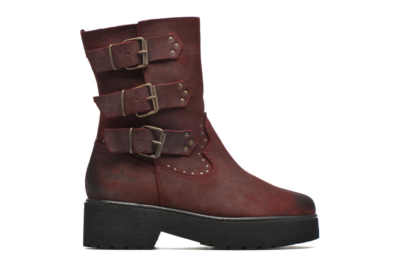 Bottines et boots Coolway Baboon Rouge vue derrière