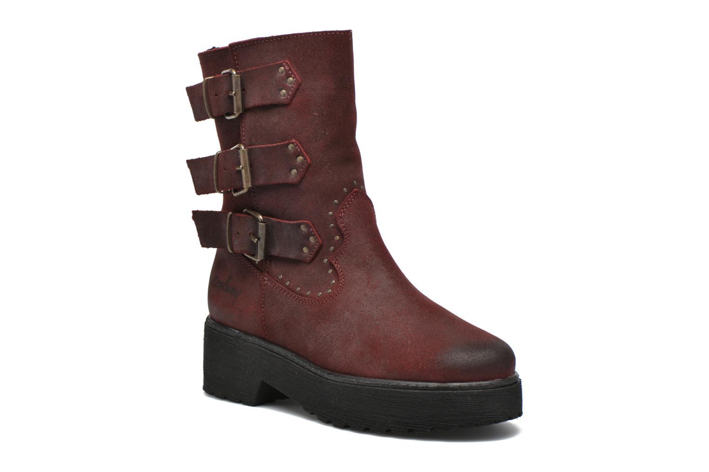 Bottines et boots Coolway Baboon Rouge vue détail/paire