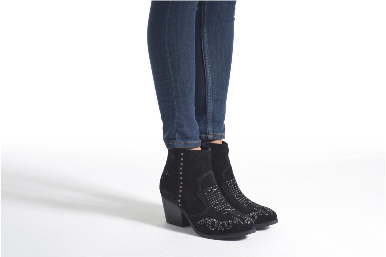 Stiefeletten & Boots Coolway Bala schwarz ansicht von unten / tasche getragen