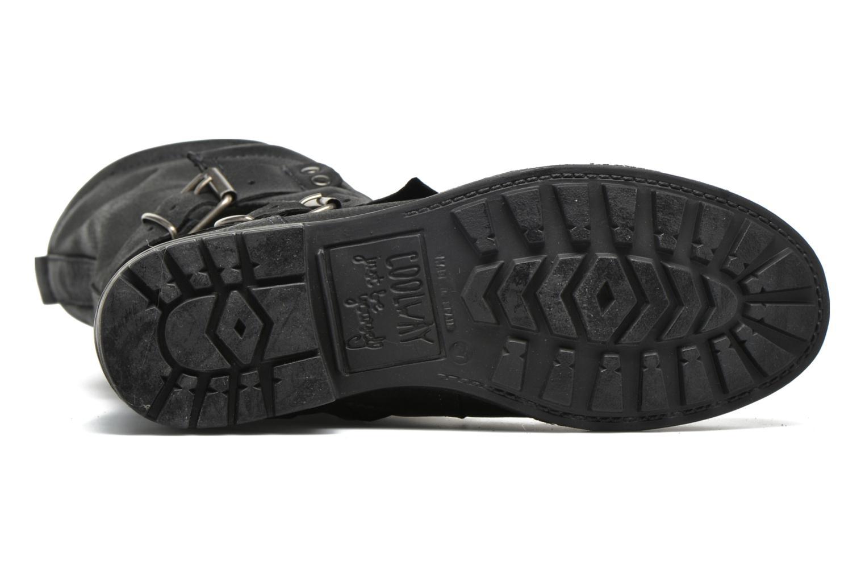 Bottines et boots Coolway Alida Noir vue haut
