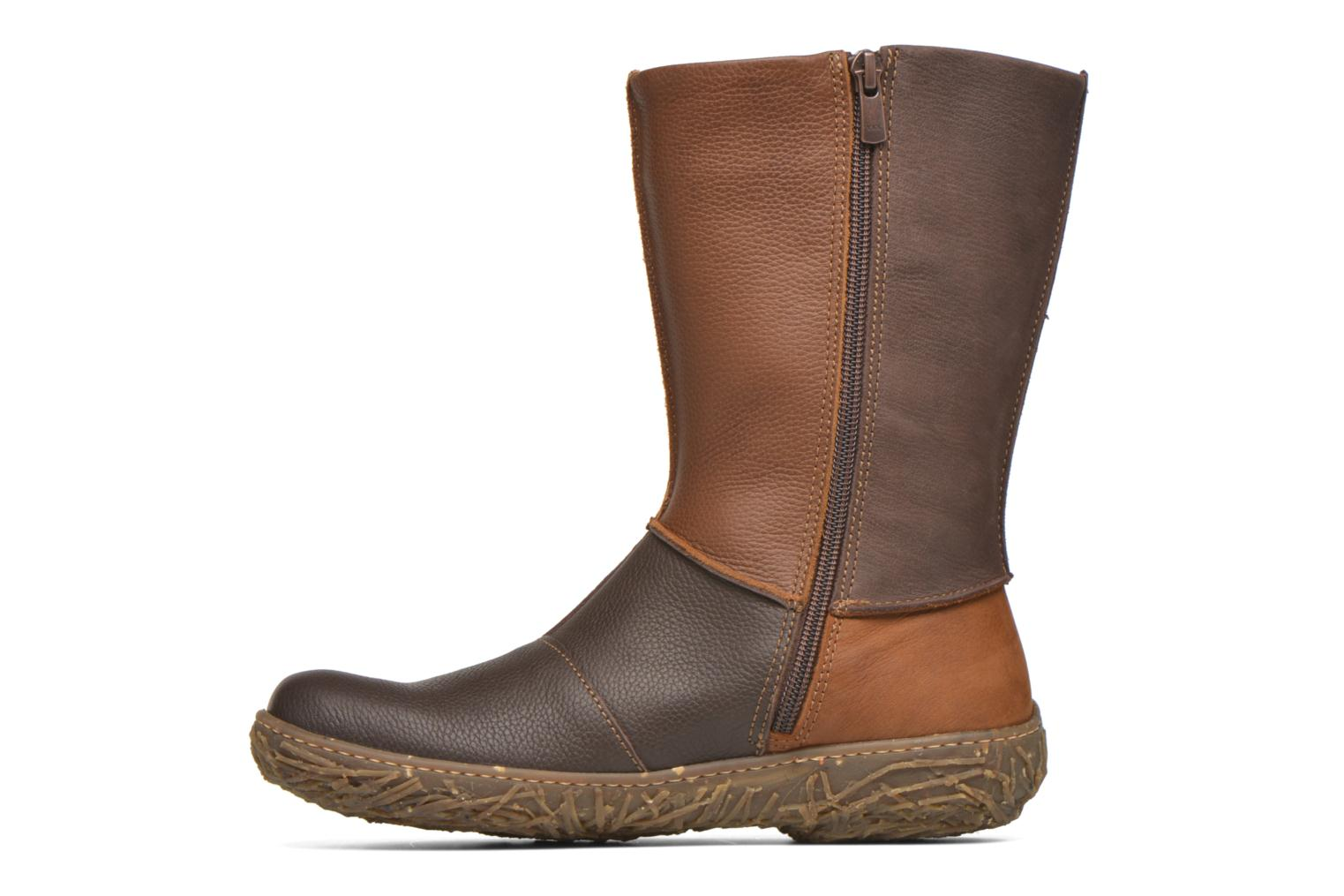 Ankle boots El Naturalista Nido Ella N796 Brown front view