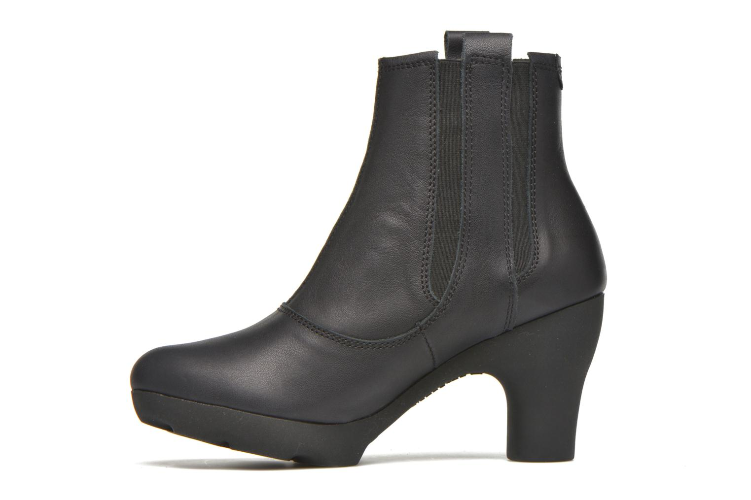 Ankle boots El Naturalista Octopus NC18 Black front view