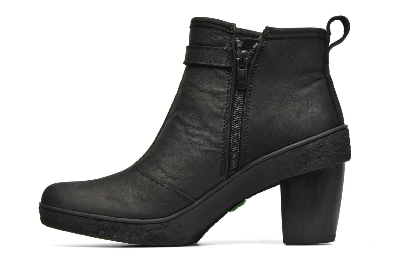 Ankle boots El Naturalista Lichen NF71 Black front view