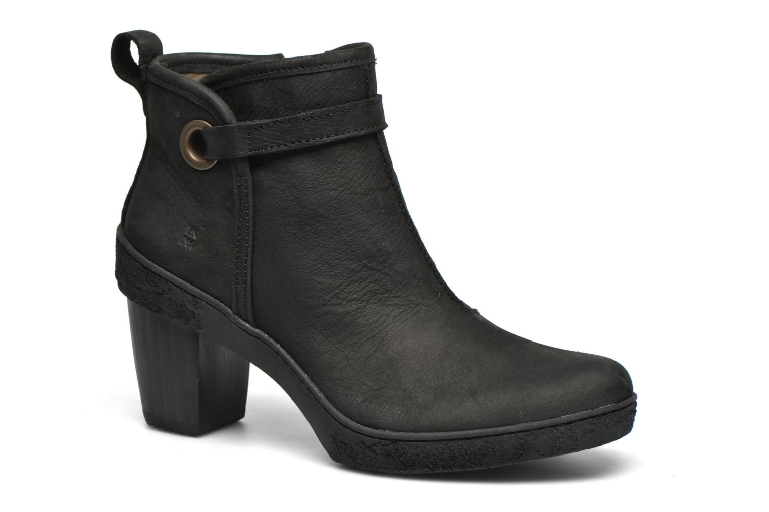 Ankle boots El Naturalista Lichen NF71 Black detailed view/ Pair view