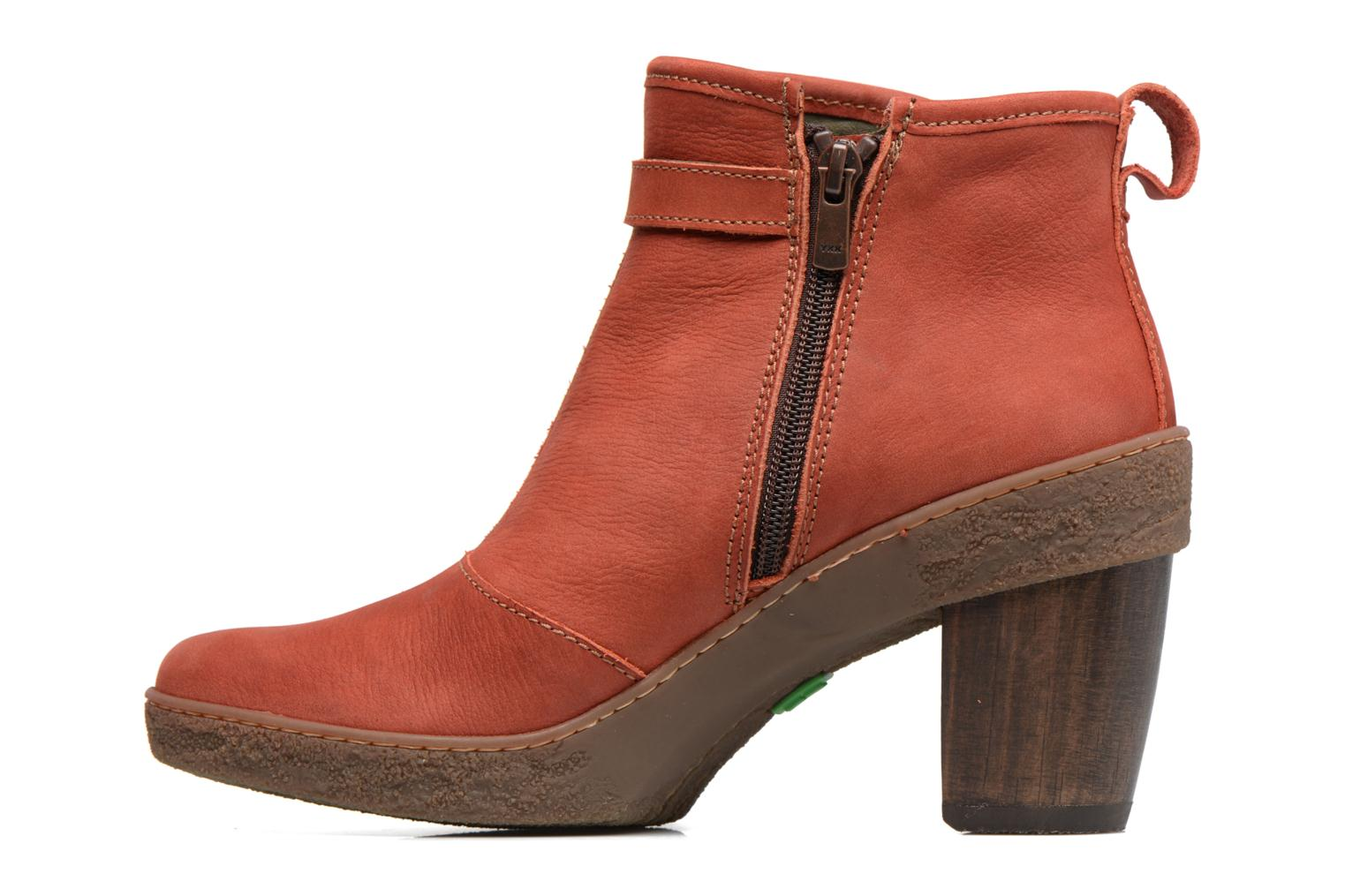 Ankle boots El Naturalista Lichen NF71 Red front view