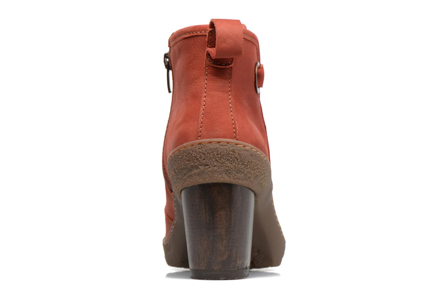 Ankle boots El Naturalista Lichen NF71 Red view from the right
