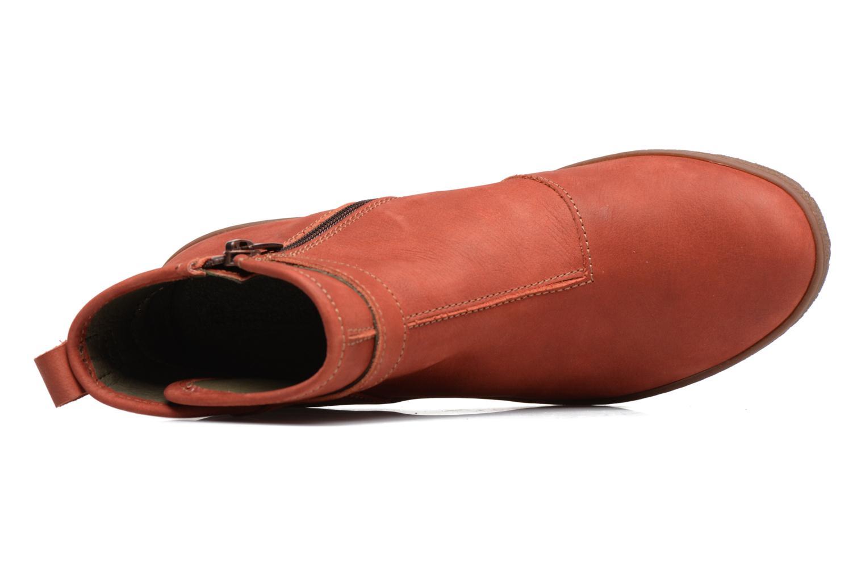 Stiefeletten & Boots El Naturalista Lichen NF71 rot ansicht von links