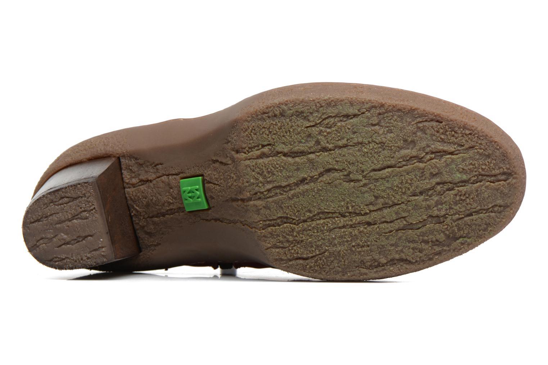 Stiefeletten & Boots El Naturalista Lichen NF71 rot ansicht von oben