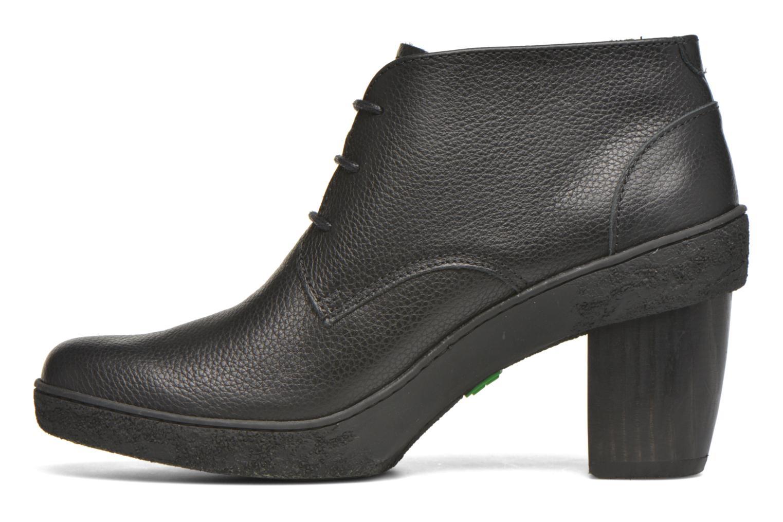 Chaussures à lacets El Naturalista Lichen NF74 Noir vue face