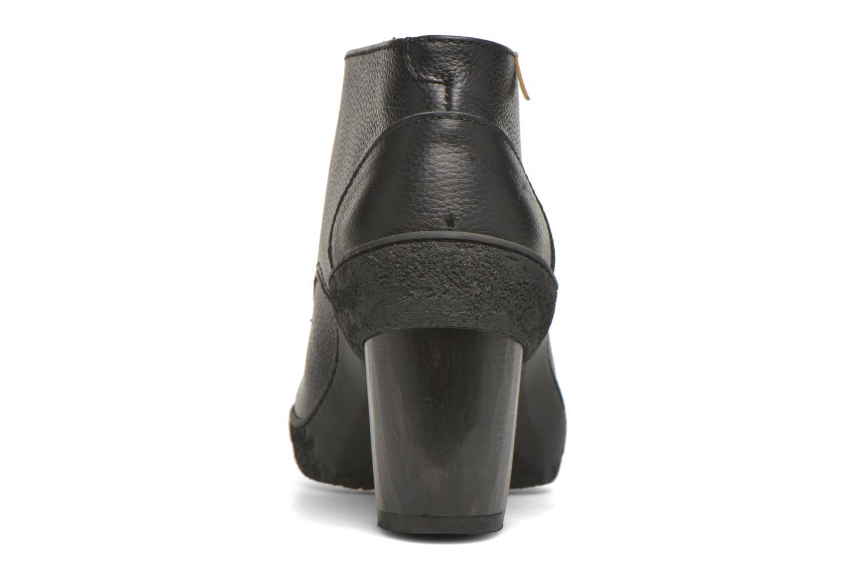 Chaussures à lacets El Naturalista Lichen NF74 Noir vue droite