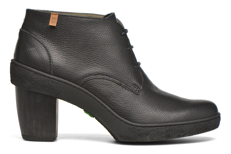 Chaussures à lacets El Naturalista Lichen NF74 Noir vue derrière
