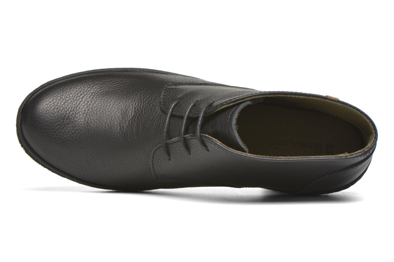 Chaussures à lacets El Naturalista Lichen NF74 Noir vue gauche