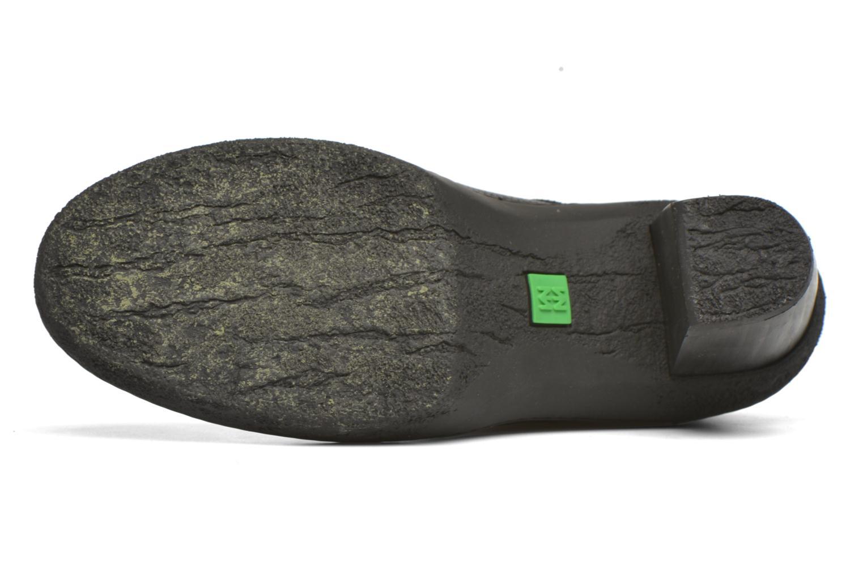Chaussures à lacets El Naturalista Lichen NF74 Noir vue haut